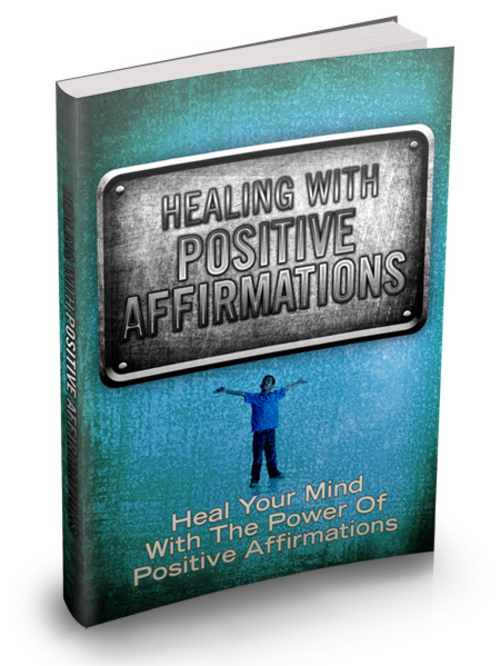 Product picture Healing With Positive Affirmations  MRR Ebook