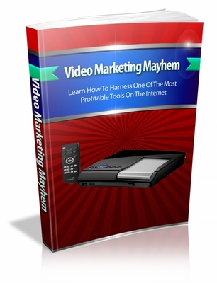 Product picture Video Marketing Mayhem  mrr book