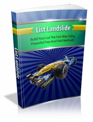 Product picture List Landslide mrr ebook