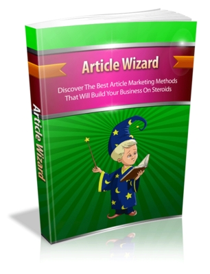 Product picture Article Wizard mrr ebook