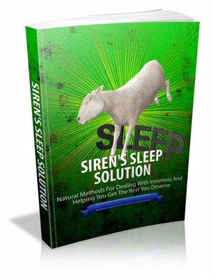 Product picture Sirens Sleep Solution mrr ebook